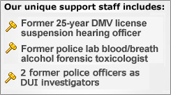 DUI support staff.